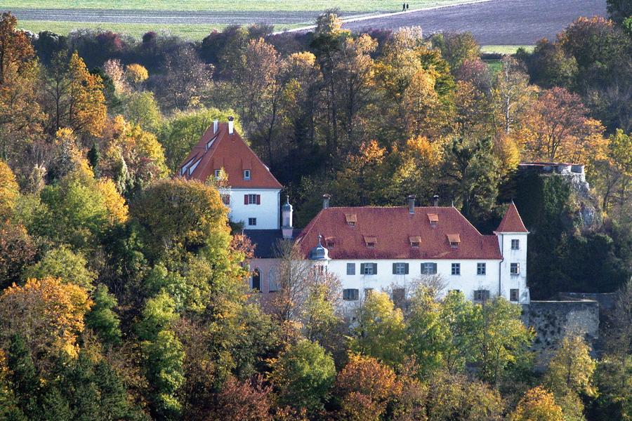 Blaustein Schloss Klingenstein; Oberherrlingen