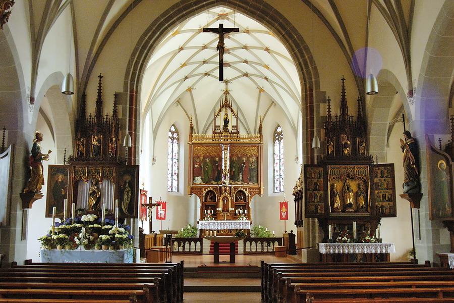"""Oberstadion, Katholische Pfarrkirche """"Sankt Martin"""""""
