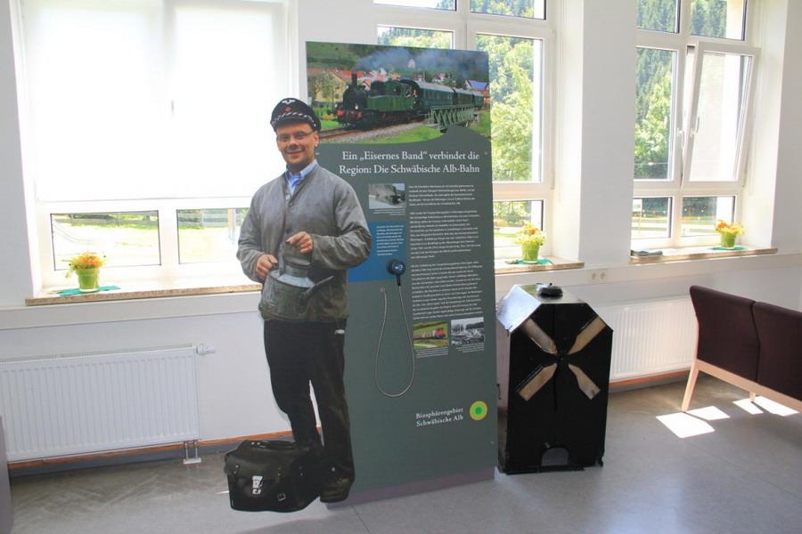Biosphären-Infozentrum Schelklingen-Hütten