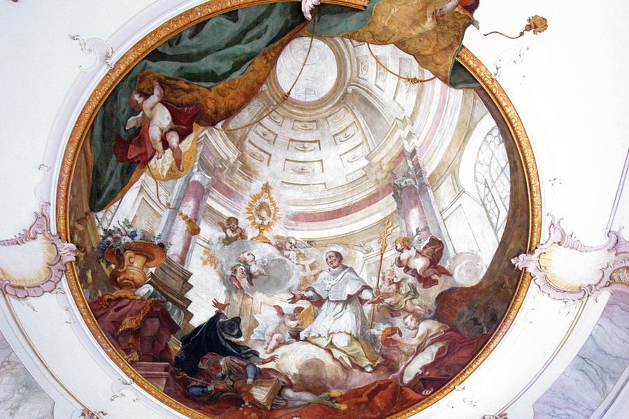 """Unterwachingen, Katholische Pfarrkirche """"Sankt Cosmas und Damian"""""""