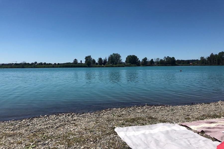 Ersingen Baggersee; Badeseen