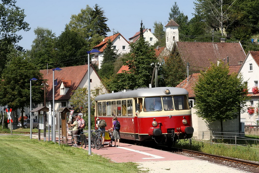 Schwäbische Alb-Bahn MAN Schienenbus