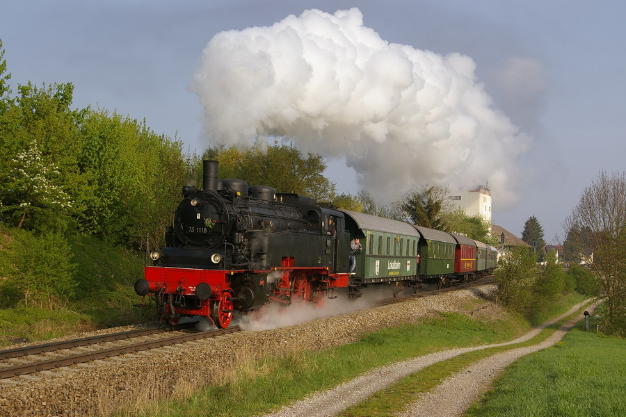 Dampfzugfahrten auf der Museumsbahn