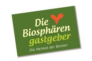 Logo_Biosphärengastgeber; Regionale Qualitätskennzeichen