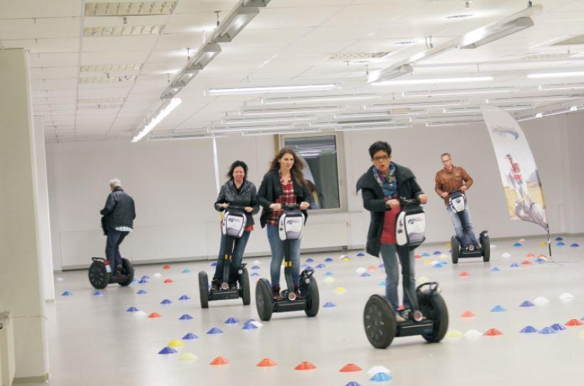 SEGWAY-Indoor-Parcours Ehingen