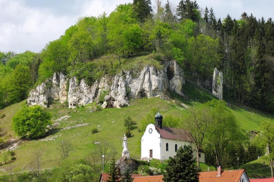 Schelklingen_Hütten_Tour_7; Schelklingen - Münsinger Alb - Schmiechtal