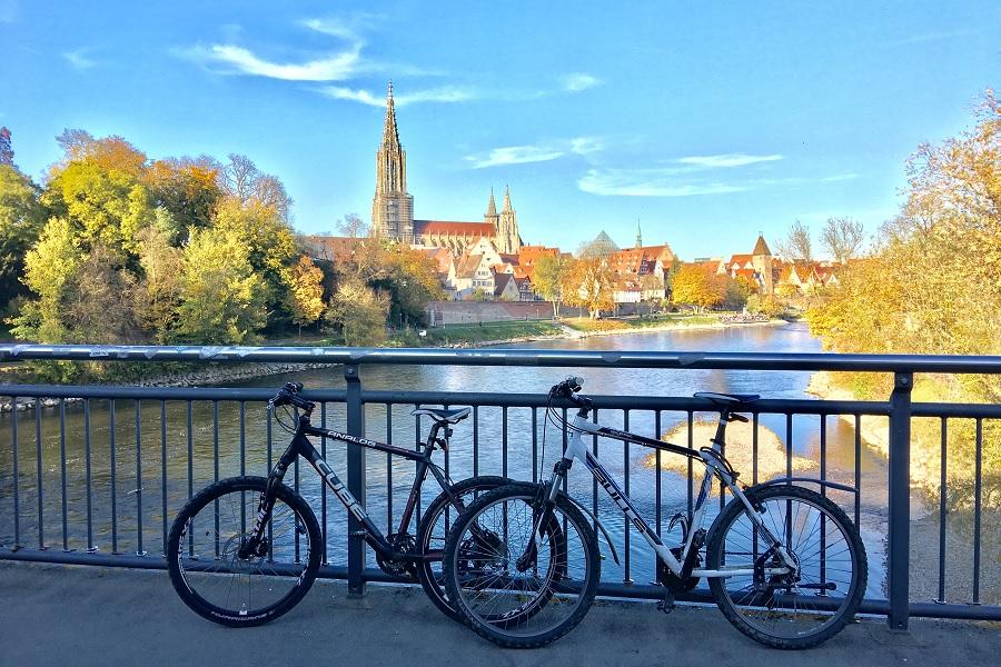 Ulm_Radtour_8; In Ulm und um Ulm herum