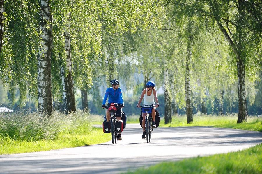 Munderkingen_Donauradweg; E-Bike BergBier-Tour