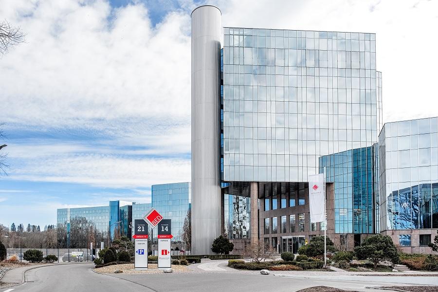 BED_Außenanlage; BED Businesspark Ehingen