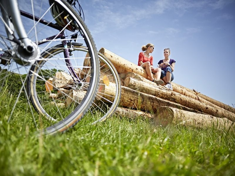 Radeln auf dem Albtäler-Radweg