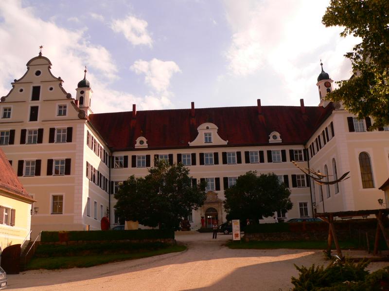 Schloss Mochental bei Ehingen.