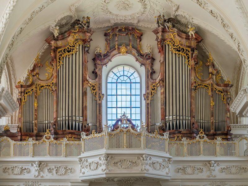 Obermarchtal Orgel - 2016 erhalten